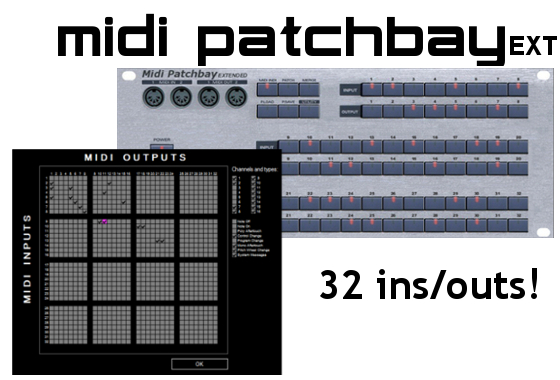 Midi Patchbay Extended